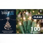 Ever Lite – Clear Indoor and Outdoor Festive Mini Lights